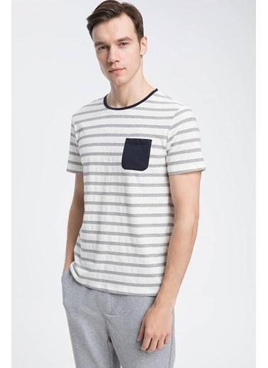 DeFacto Pijama Üst Beyaz